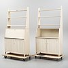 Carl malmsten, a pair of bookcases, 'vardags'.