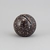 An early 20th century  porphyry paper weight.