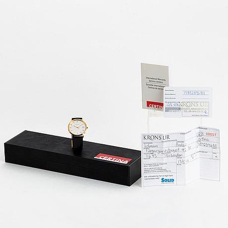 Certina, wristwatch, 33 m.