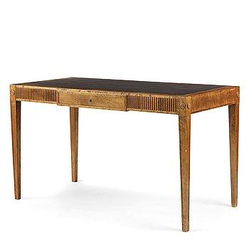 304. Ragnar Östberg, a birch desk, Upsala Möblerings AB, Uppsala, Sweden 1930.