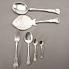 A norwegian 20th century silver set of 48 pcs of cutlery mark of oscar lassen total weight ca 1500 gr.