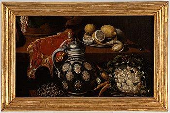 Gottfried von Wedig, hans art, olja på duk.
