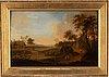 Johan philip korn, oil on panel.