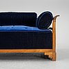 An art deco daybed, 1920's.