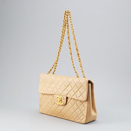 Chanel, 'single flap bag maxi', 1991-1994.