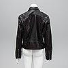 Polo ralph lauren, a buffalo leather jacket, size 14.