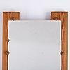 Gunnar kanevad, spegel, signerad samt daterad 1971.