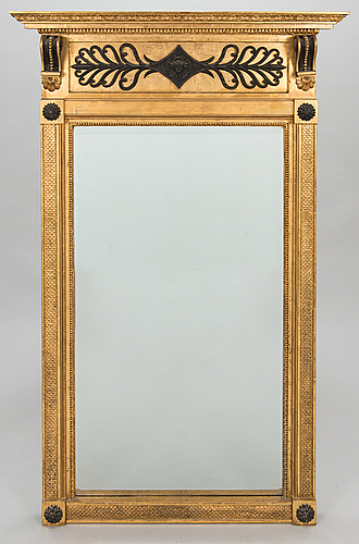 Mirror, stockholm around 1800, possibly johan frisk.