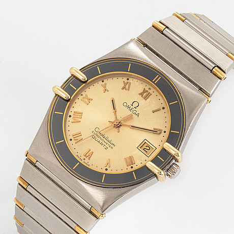 Omega constellation chronometer, wristwatch, 32 mm.