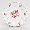 A 6-piece set of kuznetsov porcelain plates, moscow.