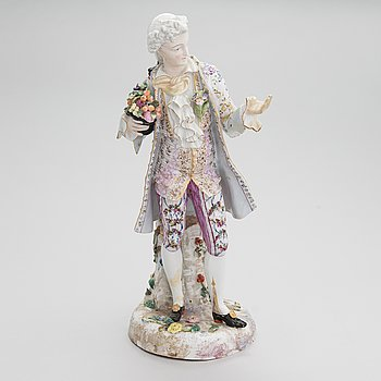 A Meissen porcelaine figure, 19th century.
