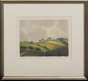 Peter Frie, lithograph, signed, numbered 56/90.