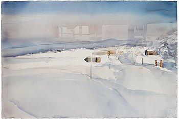 """343. Lars Lerin, """"Kiruna""""."""