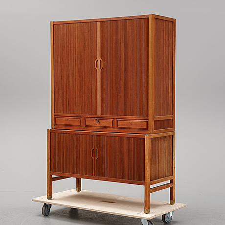 Carl-axel acking, a teak cabinet, svenska möbelfabrikerna bodafors.