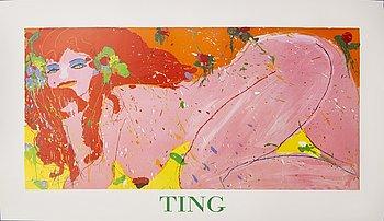 Walasse Ting, Grafiskt tryck, Printed Wang Rasmusen Denmark.