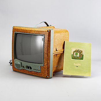 "Philippe Starck, Portable TV, ""Jim Nature"" M 3799, SABA, 1994."