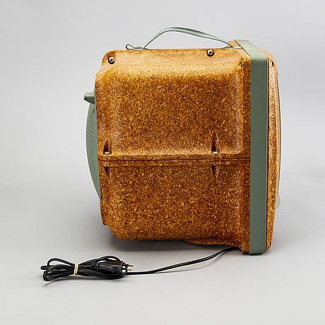 "Philippe starck, portable tv, ""jim nature"" m 3799, saba, 1994."