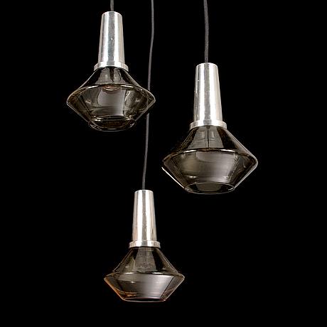 A 1960's pendant light.