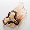 Alvar aalto, a 'savoy' glass vase, iittala 2000s.