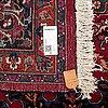 A carpet, old mashad, ca 391 x 306 cm.