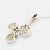 Gert thysell, gussi, silver pendant, malmö.