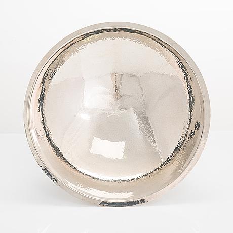Pekka piekäinen, skål, sterlingsilver och emalj, stämpelsignerad pp, platinoro, åbo 2004.
