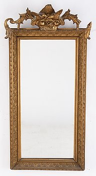 Spegel, 1800-talets slut.