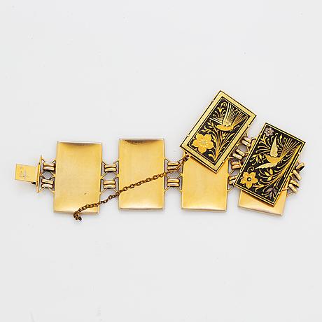 Panel bracelet.
