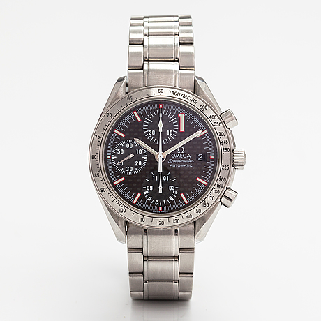 Omega, speedmaster, racing, michael schumacher, wristwatch 39 mm.