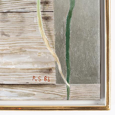 Philip von schantz, oil on canvas, signedn pvs and dated -83.