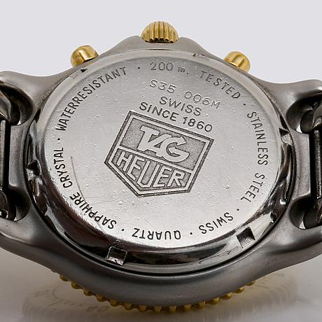 Tag heuer, tachymetre 200 m, armbandsur, 39 mm.