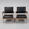 A pair of 'tillfälle' armchairs, ikea, 2016.
