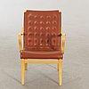 A bruno mathsson mina armchair.