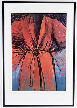 Jim Dine, colour offset, 1983, signed in pencil 88/250.