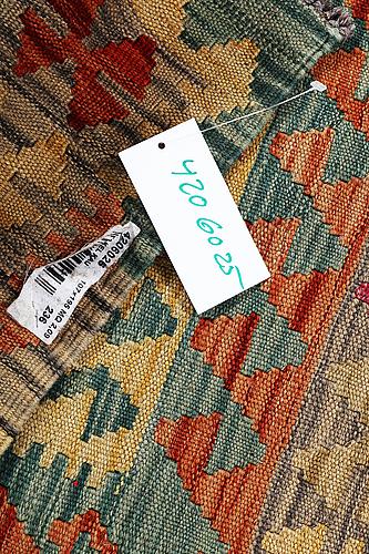 A carpet, kilim, ca 195 x 107 cm.