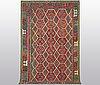 A carpet, kilim, ca 295 x 191 cm.
