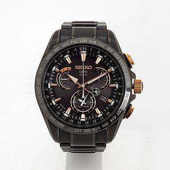 Seiko, Astron GPS, chronograph, wristwatch, 45 mm.