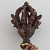 Vajra, brons. tibet, 1900-tal.