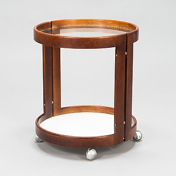 A 1970s serving trolley.