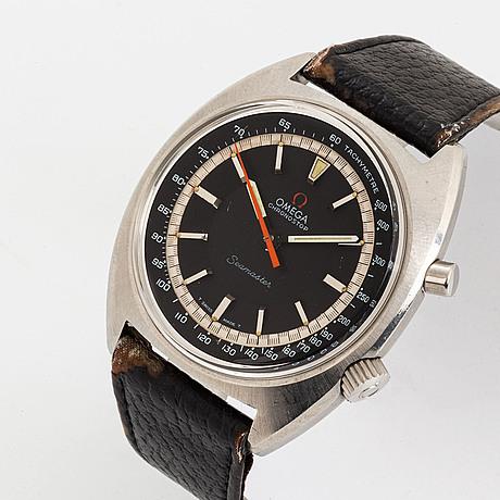 Omega, chronostop, seamaster, wristwatch, chronograph, 41 mm.
