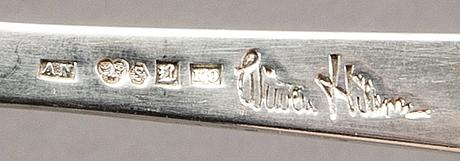Wiwen nilsson, bestick 9 dlr silver lund 1950/60-tal.