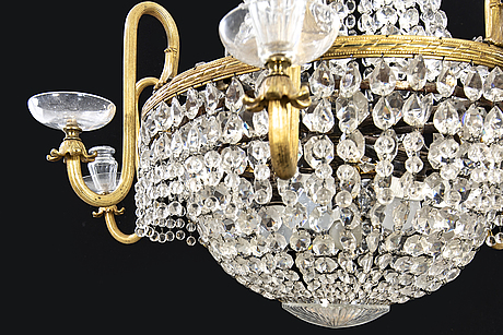 Chandelier, oscar-winning, late 19th century. probably french.