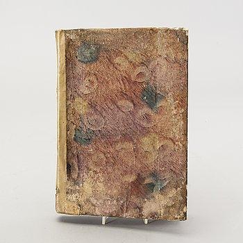 Domenico Guglielmini, book, hydrologiy, Bologna 1697, 15 engravings.