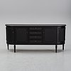 A painted gustavian style sideboard, late 20th century.