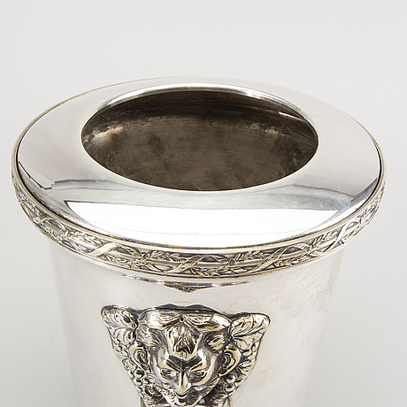 A brazilian epns champagne cooler mid 1900s.