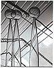 "John selbing, two glass sculptures ""klot över kon"", orrefors, sweden 1954."