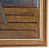 Leo reis, oil on canvas, signed.