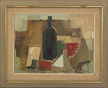 Lennart Rosensohn, oil on canvas, signed, 1950s.