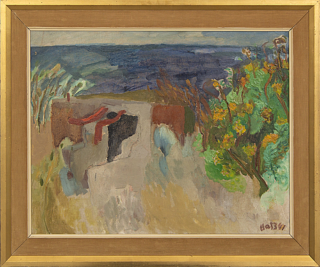Felix hatz, oil on canvas, signed and dated -41.