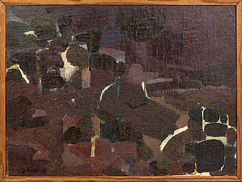 John Wipp, oil on canvas / panel signed. 60s.